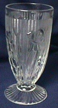 Iris Crystal Candleholder Pair