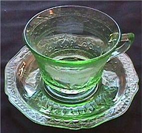 Patrician Green Sherbet