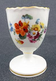 Wonderful Meissen Floral Egg Cup
