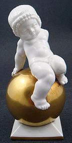 Delightful Art Deco Hutschenreuther Cherub Figurine