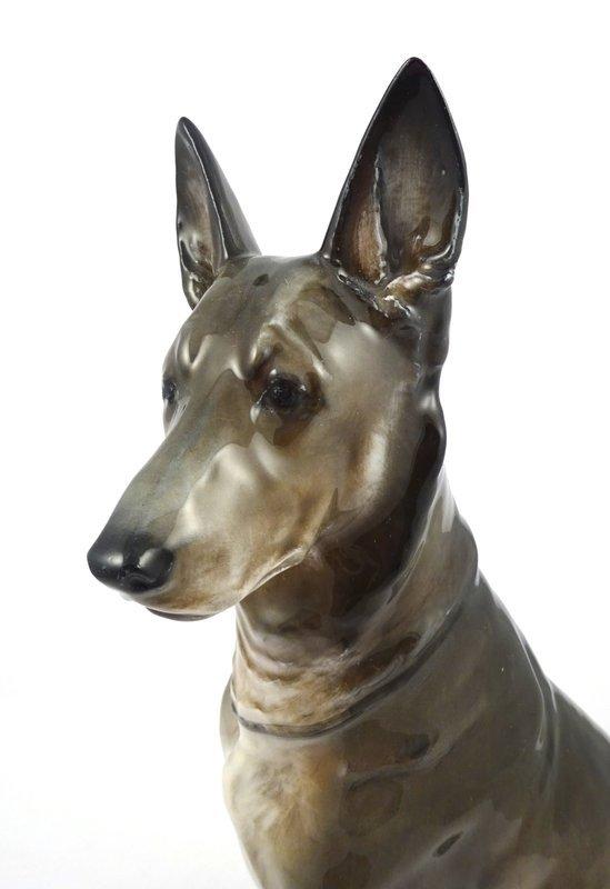 Fine Rosenthal German Shepherd Dog Figurine