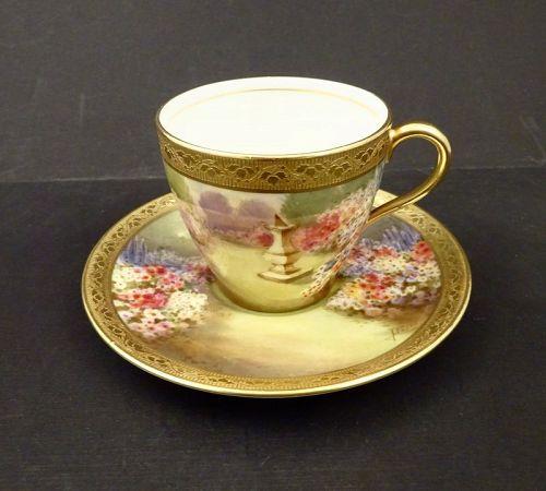 Royal Doulton English Gardens Demitasse Cup & Saucer