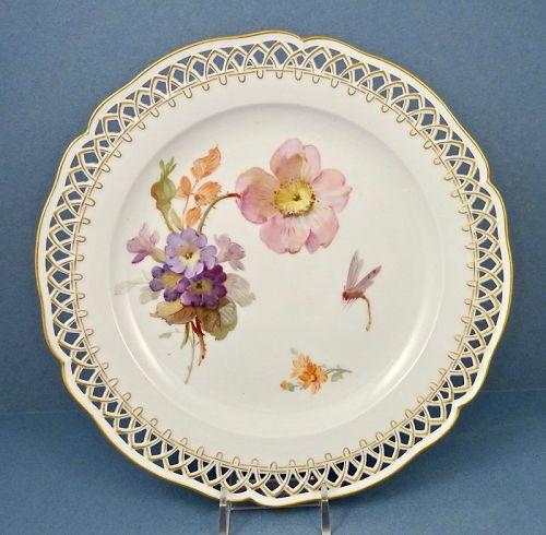 Antique KPM Plate Art Nouveau