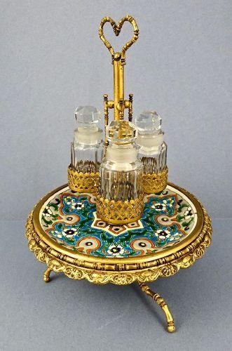 Antique Palais Royal Perfume Stand