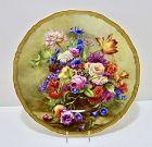 Royal Worcester Cabinet Plate, Artist Signed