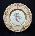 G986  Mintons Cabinet Plate, Cherub
