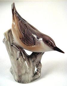 Life-Like Bing & Grondahl Copenhagen Nuthatch Bird