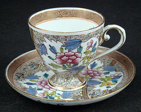 Antique Herend Demitasse Cup and Saucer