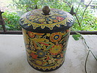 1960's Mod Flowers Canister