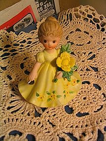 Flower of the Month Figurine
