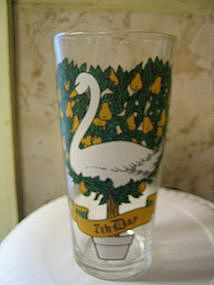 12 Days of Christmas Glass 7th Day