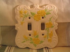 Daisy Switchplate Cover