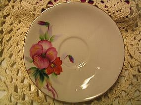 Wales Pansy Saucer