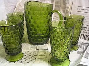 Whitehall Pitcher and Glasses
