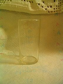 Federal Juice Glass
