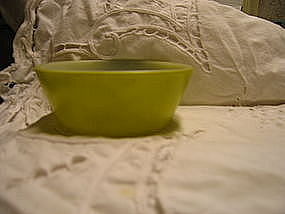 Federal Glass Cereal Bowl