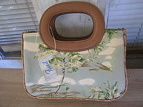 Fossil Palm Trees Purse UNAVAILABLE