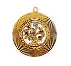 Vintage Tiffany 14K Gemstone Acrostic DEAREST Charm