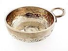 19th Century French Silver Napoleon I Tastevin