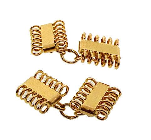 French Retro 18K Yellow Gold Cufflinks