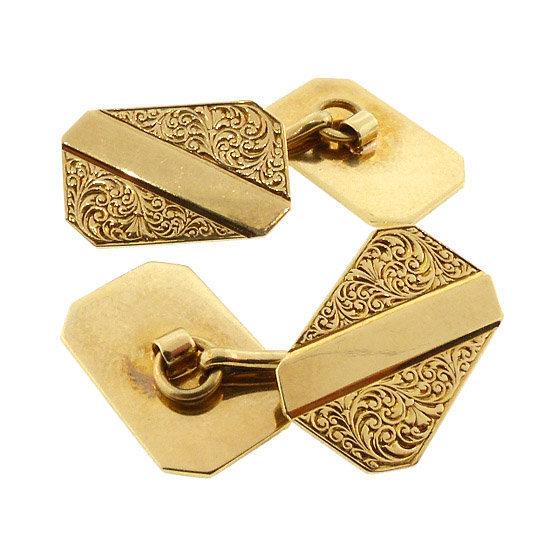 Carter, Gough & Howe Victorian 14K Gold Cufflinks