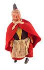 Antique German Wind-up Halloween Witch Walking Toy