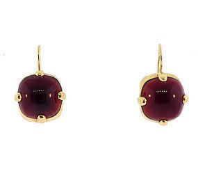Ruber 18K Yellow Gold & Amber Earrings