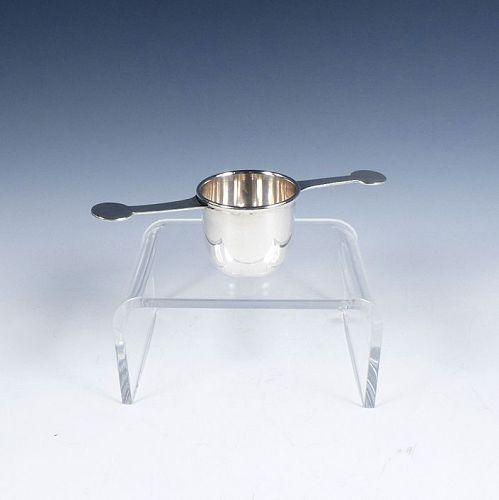 Cartier Art Deco Sterling Silver Rollover Jigger Cocktail Barware