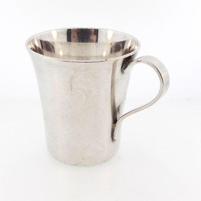 Art Deco Tiffany & Co. Sterling Silver Handled Jigger