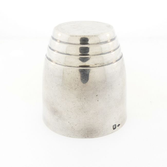 French Art Deco Silver Jigger