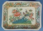 Early Chinese Rose Medallion Condiment Dish