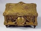 French Louis XVI Bronze Jewel Box
