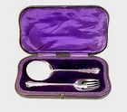 Edwardian English Sterling Silver Serving Set