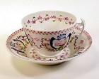 English Pink Lustre Porcelain Cup & Saucer