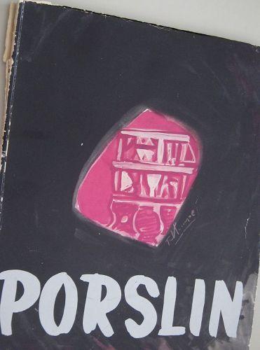 PORSLIN MAGAZINE 1951