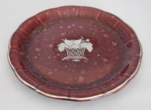 RED ARGENTA FRUIT PLATTER