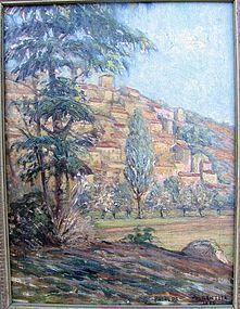 Hillside French Village 1926: Gontier