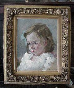 "Robert Henri ""Portrait of a Young Girl"""
