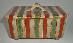 Antique Japanese Ceramic Tea Ceremony Sweets Box