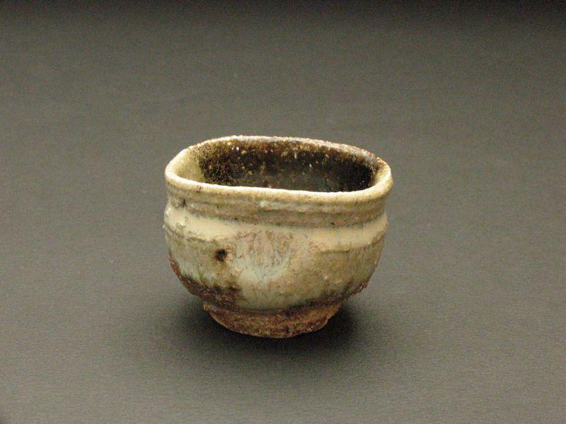Chosen karatsu sake cup by Dohei Fujinoki the popular artist KARATSU
