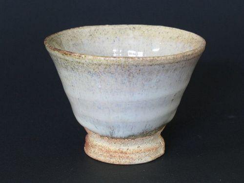 Madara-karatsu sake cup by Dohei Fujinoki the popular artist KARATSU