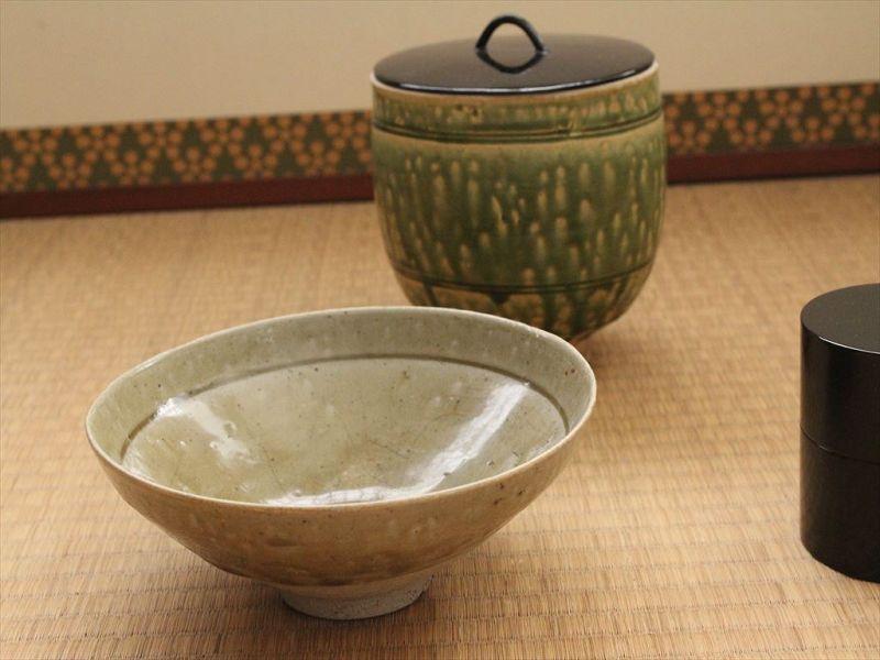 "12~13century Song dynasty ""Juko-seiji"" chawan  Celadon tea bowl"