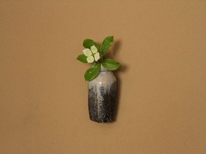 Yohen ashes covered Chosen-karatsu vase  Karatsu Expert Dohei Fujinoki