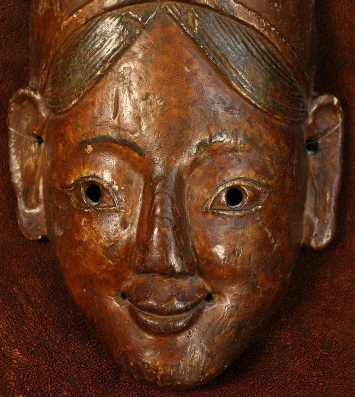 Nepalese Terai Region Maiden Mask