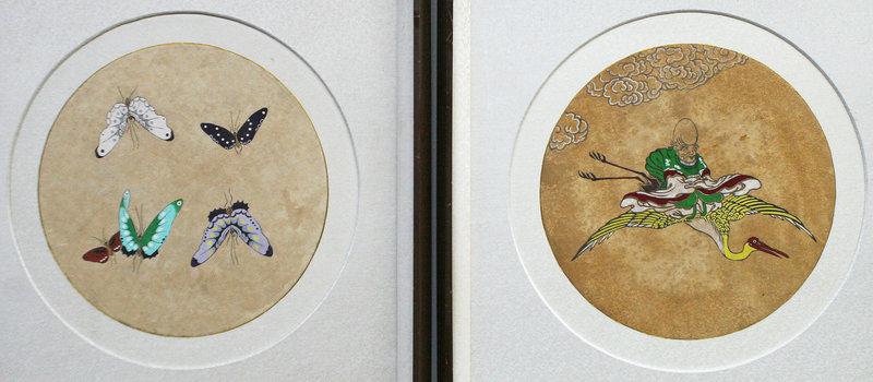 Wonderfully Inventive Pair of Allegorical Paintings