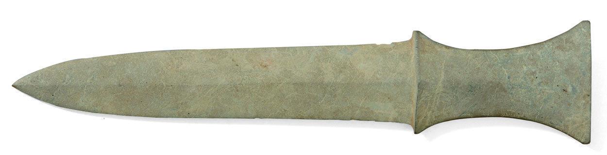 Prehistoric Korean Stone Sword, circa 1500 - 1000 BCE