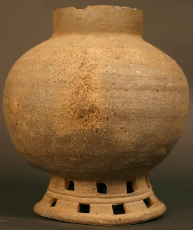 5th Century Korean Silla Kingdom Jar, Excellent Example