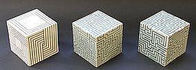 Joo Ji Wan Celadon and Porcelain Trio