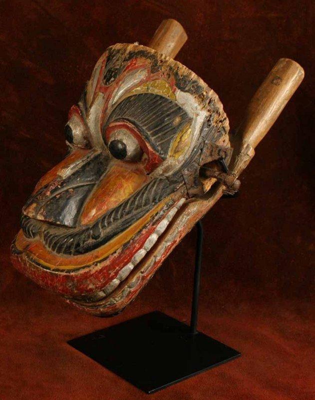 Sri Lanka Monkey Mask for Fetus Protection Ritual Drama