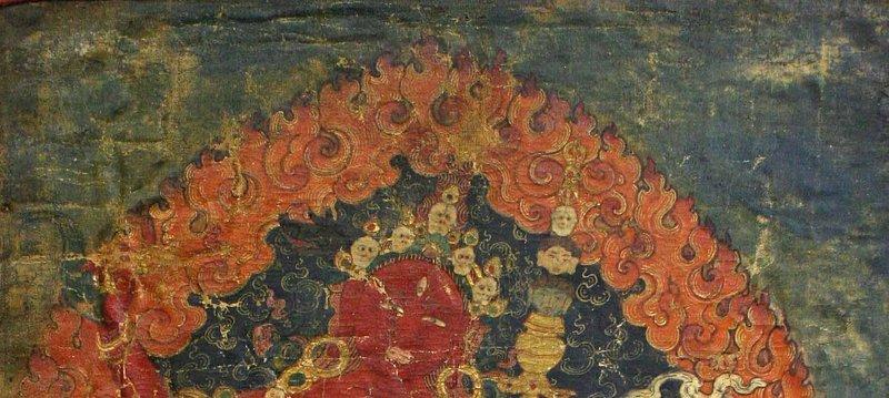 17th Century Vajravarahi Tibetan Thangka